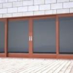 Stumdomos medines durys